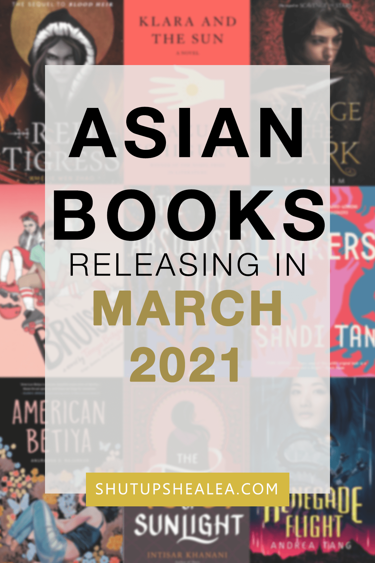 Books on the Rice: March 2021 releases from Asian authors