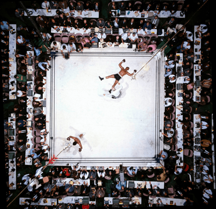 Muhammad Ali iconic photo