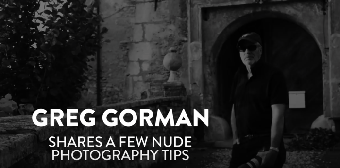 How To Shoot Nude Photography featuring Greg Gorman