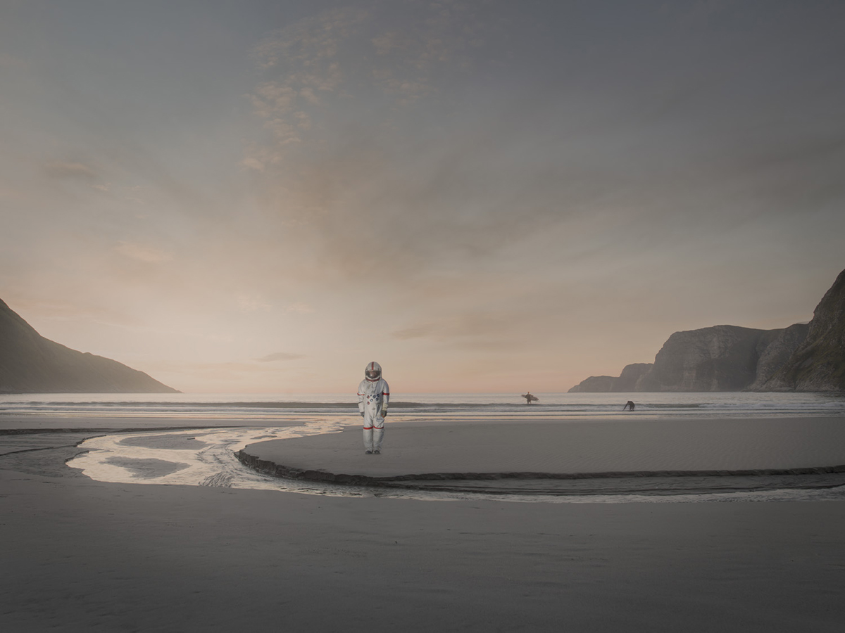 Space travels through Norway