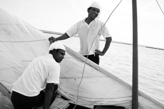 Happy Maldivian Sailors