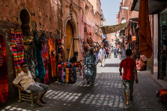 Streets of the Red City, Marrakesh