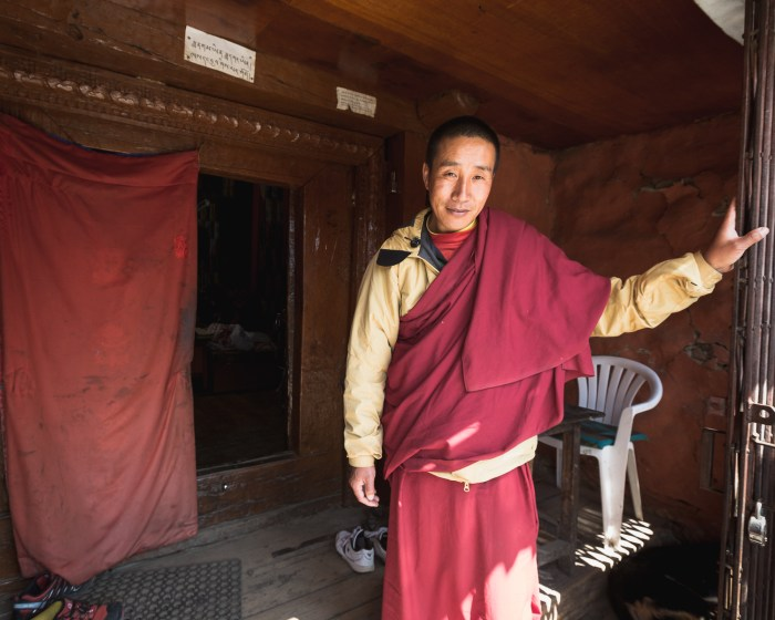 Buddhist teacher, Khumjung Gomba