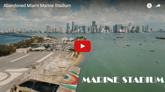 Abandoned Miami Marine Stadium