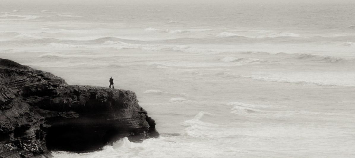 Couple at Sunset Cliffs