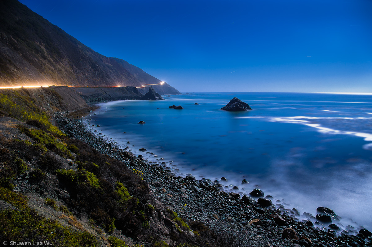 Highway 1 at Night