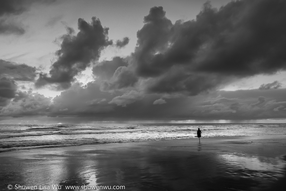 Solitude and Storm, Torrey Pines State Beach
