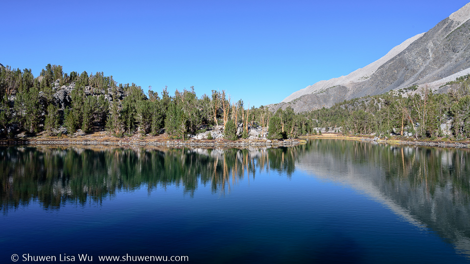 Hidden Lake, Little Lakes Valley, CA.