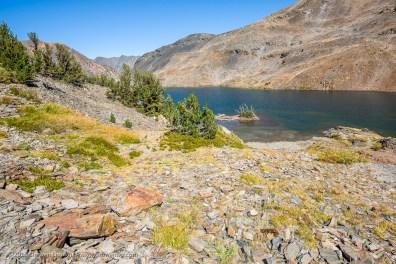 Odell Lake, 20 Lakes Basin, Hoover Wilderness, California, September 2016.