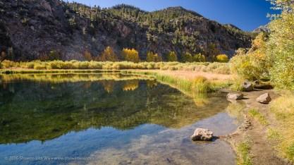 Fall Colors at North Lake, Bishop, California, September 2016.
