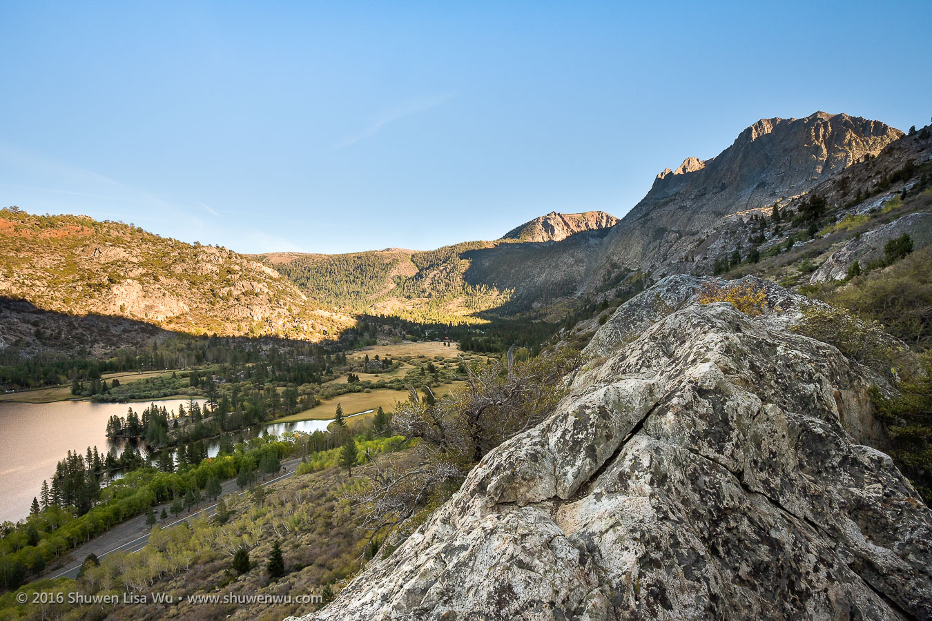 Above Silver Lake along the Rush Creek Trail, June Lake, California, September 2016.