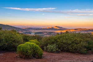 Sunset at Cuyamaca