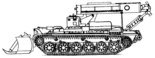 Combat engineering vehicle IMR-2