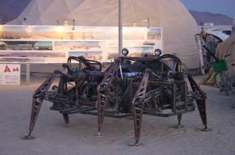 Mondo Spider walking machine