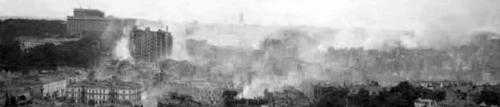 Panorama of the blown Kiev, September 1941