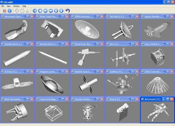 Screenshot of _OGLeMDI_ Application