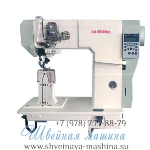 Колонковая машина с 3-м продвижением A-592-D3 Aurora (прямой привод и электронные функции) 1