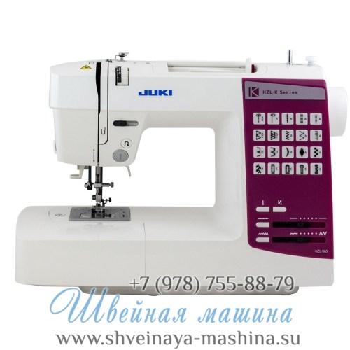 Электронная швейная машина Juki HZL K65 1