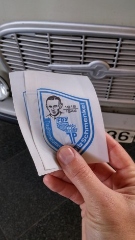 כרטיסי הכניסה מבד למוזיאון השטאזי