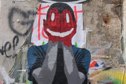 אמנות רחוב היא הדבר פה