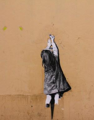 אמנות רחוב בבלוויל, פריז