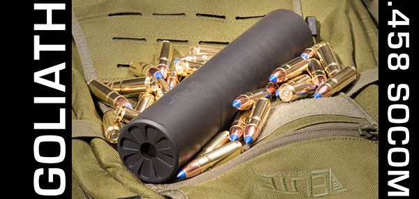 Liberty Suppressors Goliath 458 SOCOM Silencer