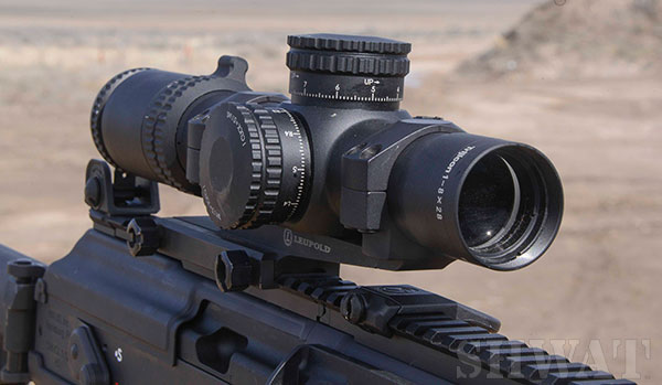 review Trijicon 1-8 scope
