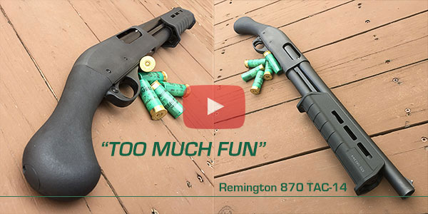 Remington 870 TAC-14 Review Video