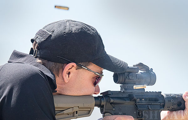 Testing Integrally Suppressed AR15