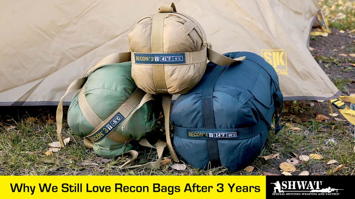 review recon sleeping bag