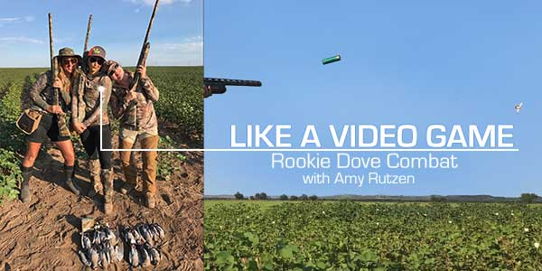 Womens dove hunt