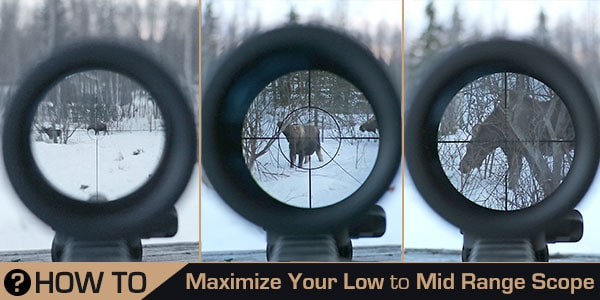 how to set up rifle scope