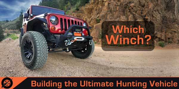 Best hunting vehicle winch