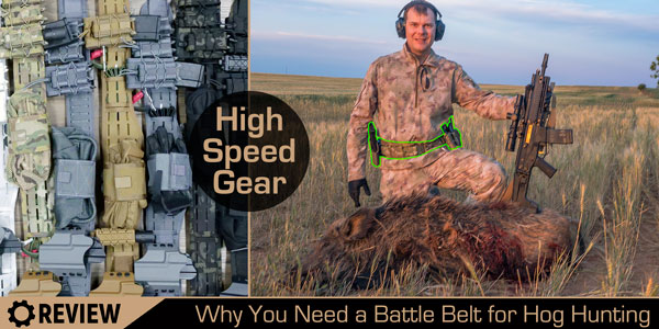 High Speed Gear battle belt review