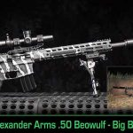 Alexander Arms .50 Beowulf Big Bore Takes Down Big Texas Boars!