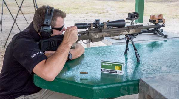Shooting the Remington XM-3