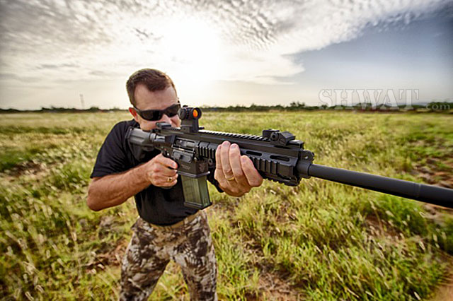 How To Set Up An Ar 15 For Hog Hunting Shwat