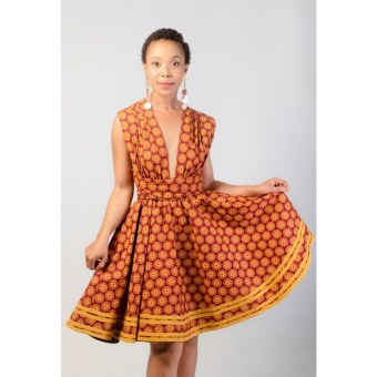 South African Traditional Dresses 2021 For Women's (12)