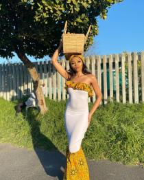 South African Traditional Dresses 2021 For Women's (13)