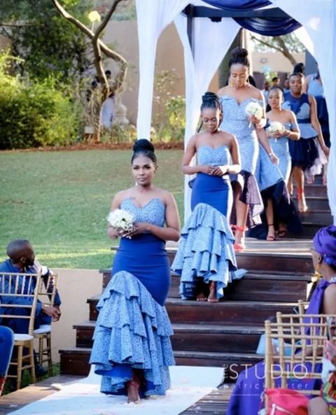 Traditional Shweshwe Dresses 2021 For Wedding (6)