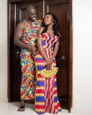 Latest Shweshwe Kente Fabric Styles 2021 (1)