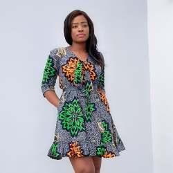 ANKARA SHORT DRESSES STYLE 2021 (4)