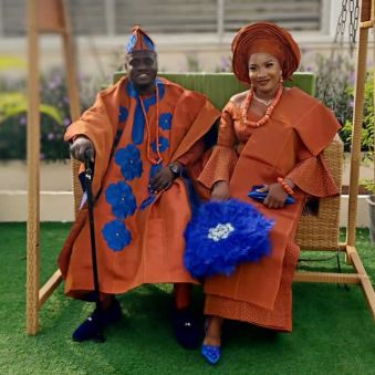 Agbada Outfit for Celebrities males & Females 2021 (9)