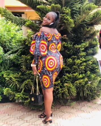 AFRICAN ANKARA SHORT GOWN (6)