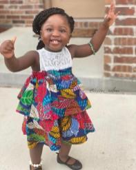 ANKARA FEMALE BABY DRESSES (3)
