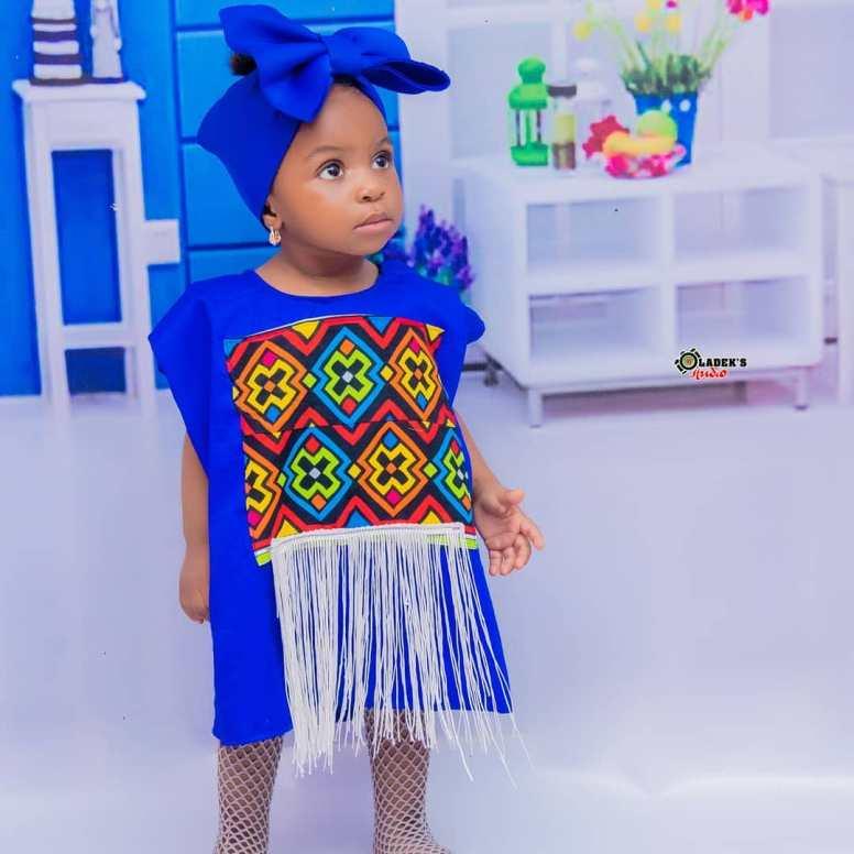 ANKARA FEMALE BABY DRESSES (6)