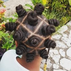BANTU KNOTS HAIR STYLES FOR WOMEN AND KIDS 2021 (7)