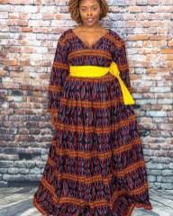 DAZZLING ANKARA LONG DRESSES COLLECTION 2021 (5)