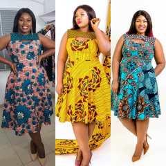 GORGEOUS ANKARA FASHION DRESSES 2021 (6)