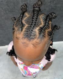TRENDING LITTLE KIDS BRAIDING HAIRSTYLES 2021 (5)